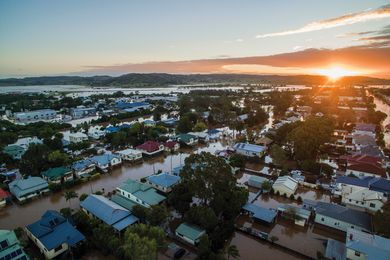 Many regional towns on the east coast of Australia, including the NSW Northern Rivers town of Lismore, were flooded after Cyclone Debbie hit in early 2017, causing significant damage.