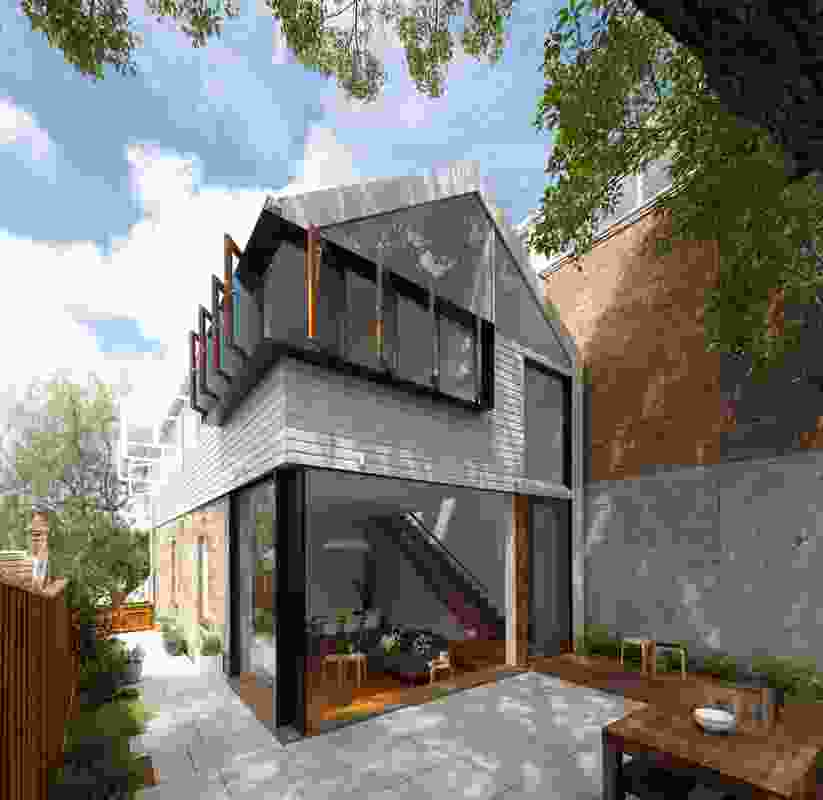 Elliott Ripper House by Christopher Polly Architect.