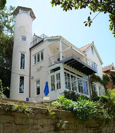 The house Wendy Whiteley shared with her former husband, painter Brett Whiteley, until they separated in 1988.