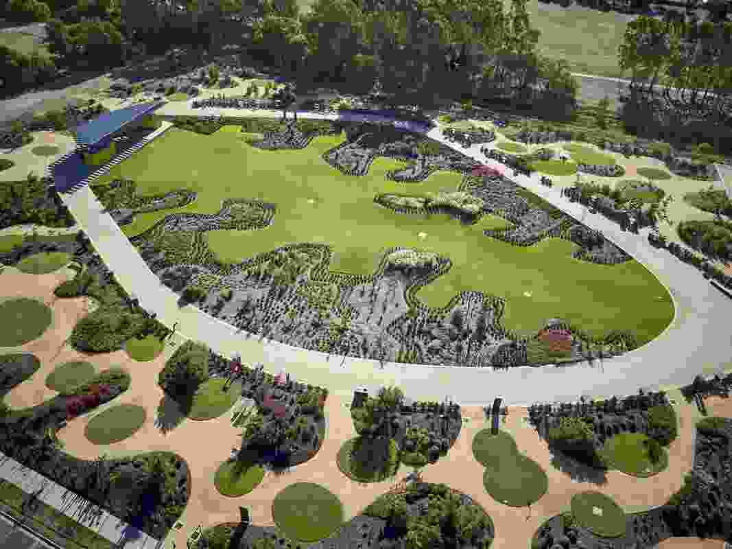 Bendigo Botanic Gardens – Garden for the Future by TCL won a Landscape Architecture Award in the Gardens category.