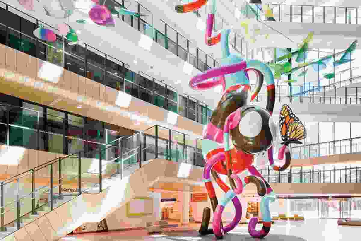 Royal Children's Hospital by Billard Leece Partnership and Bates Smart.