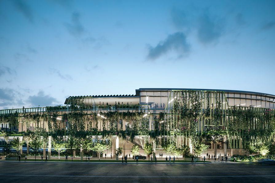 The Cairns Convention Centre upgrade by Cox Architecture.