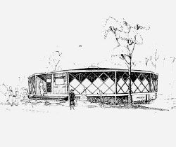 Sketch of Toowong Library.