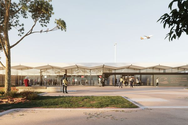 Port Hedland International Airport by Woods Bagot.