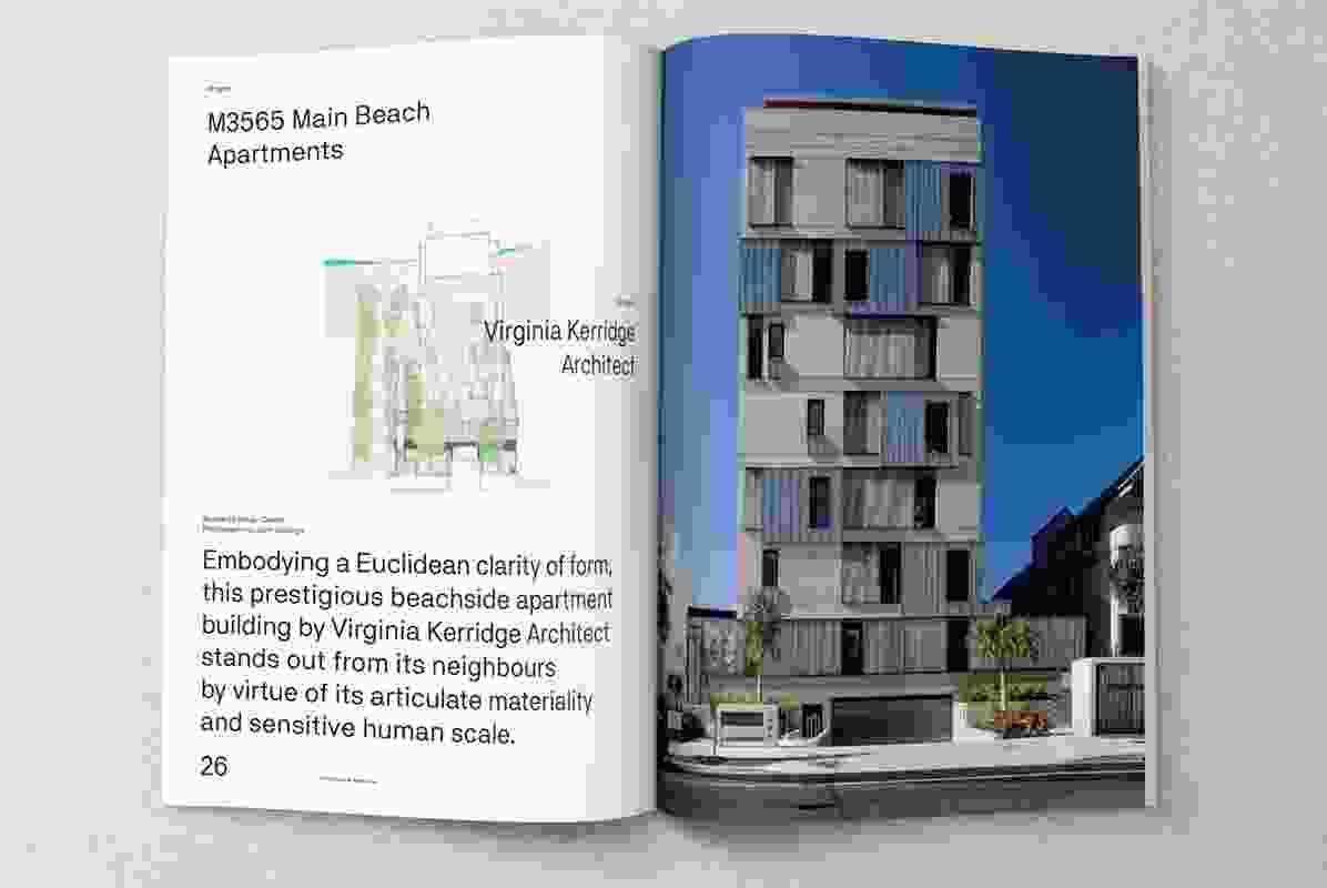 M3565 Main Beach Apartments designed by Virginia Kerridge Architect.