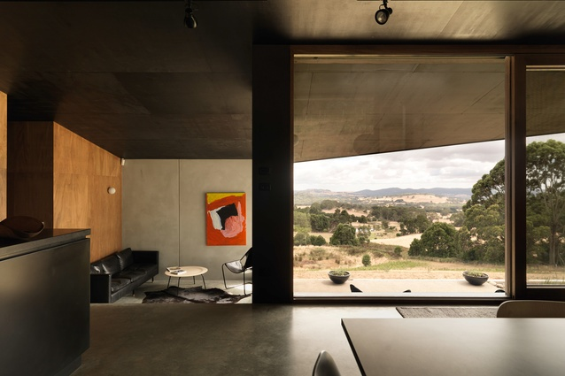House at Hanging Rock by Kerstin Thompson Architects.