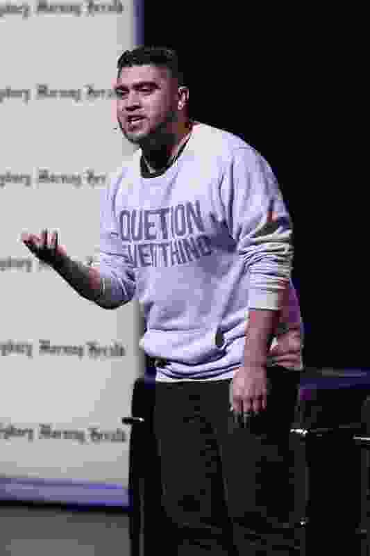 Omar Musa (Australian Poetry Slam winner).