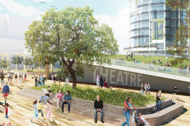 The Orchard, Ryde Square by Team2 in collaboration with Arcadia Landscape Architecture (Australia).