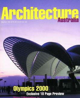 Architecture Australia, May 1997
