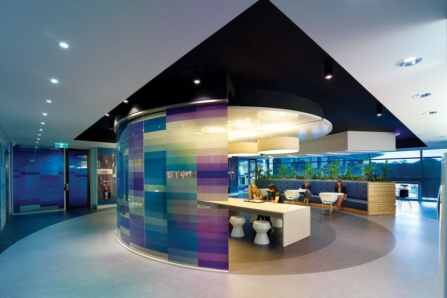 Interior collaborative spaces are a gesture 