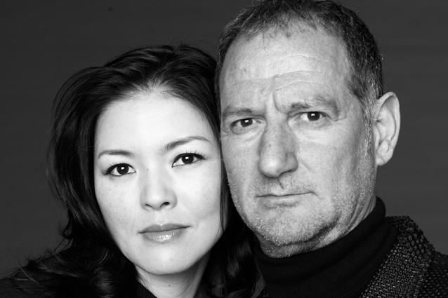 Riccardo Tossani Architecture co-founders Atsuko Itoda and Riccardo Tossani.