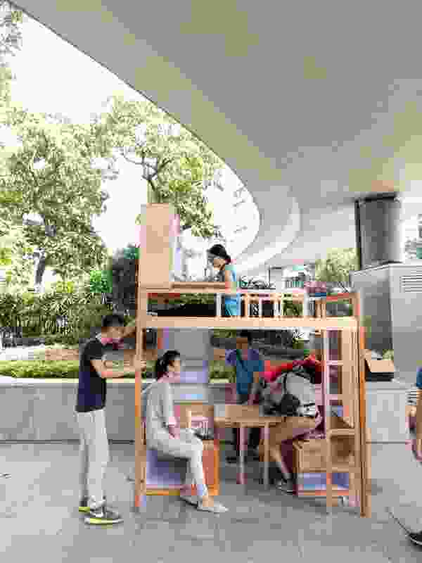 Maggie Ma's practice Domat produces work for people living with limited means, including modifications to subdivided homes and new social housing developments.