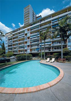 Torbreck, Dornoch Terrace, Brisbane, 1958–62, by Aubrey Job and Bob Froud. Image: Eric Sierins, 2006.
