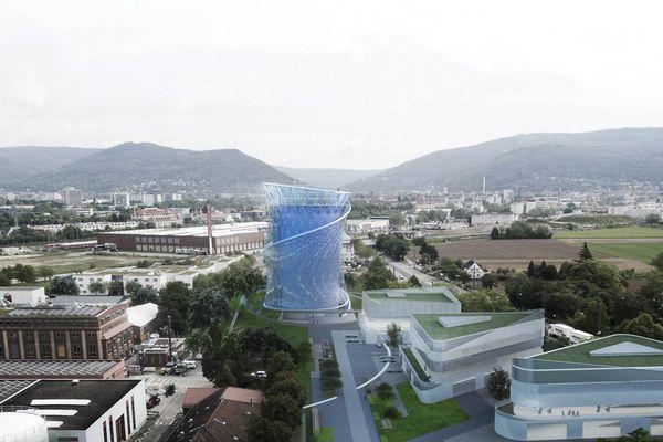 The Heidelberg energy storage centre by LAVA.