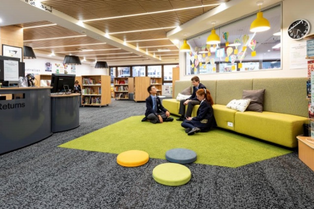 St Andrew's Cathedral School Library, St Andrew's Cathedral School by Allen Jack and Cottier Architects.