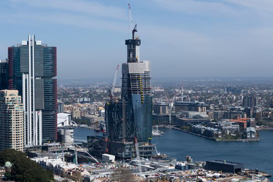 The Crown Casino rising over the Barangaroo precinct on Sydney Harbor was approved without a competitive tender or public planning assessments.