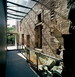The east lobby, between the Engine