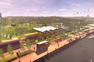 Sturt Reserve再开发概念设计,由Aspect Studios, Terroir和Mulloway设计。