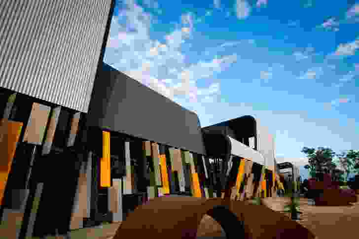 Public, Colorbond Award for Steel Architecture: Trades North at Clarkson by JCY Architects and Urban Designers.