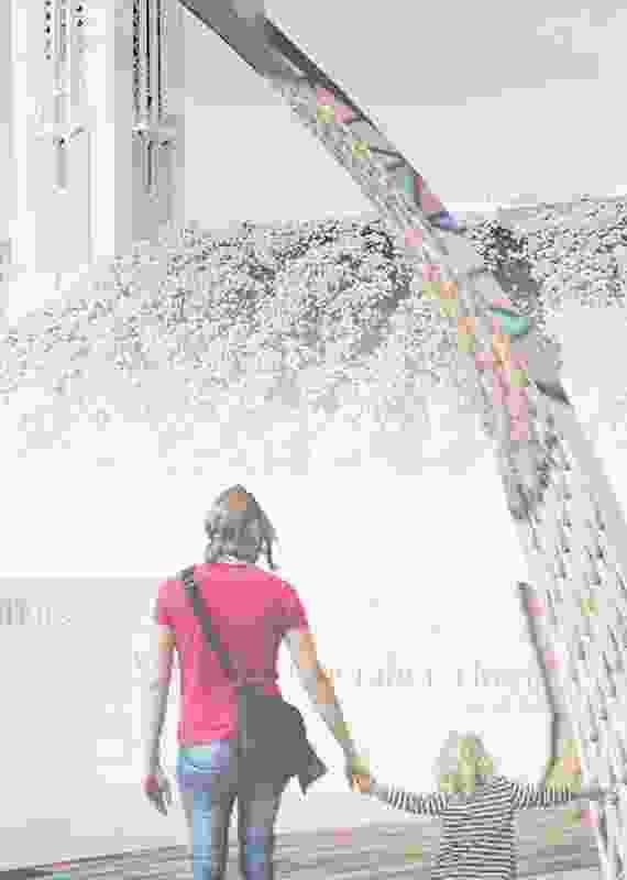 Finalist: L'Arc de Paix – The Arc of Peace by Kingsley Baird, Adam Flowers, Professor Annette Becker, Allen Wihongi and Alistair Cattanach.