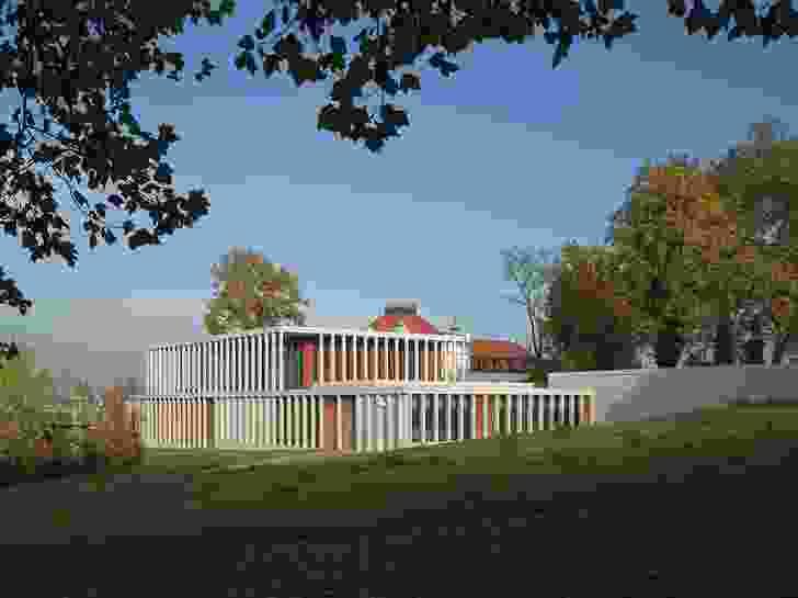 David Chipperfield's Museum of Modern Literature.