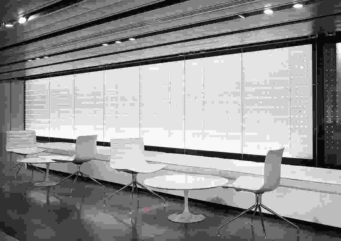 Installation Design – Norton Rose signage installation, Canberra by Carr Design Group.