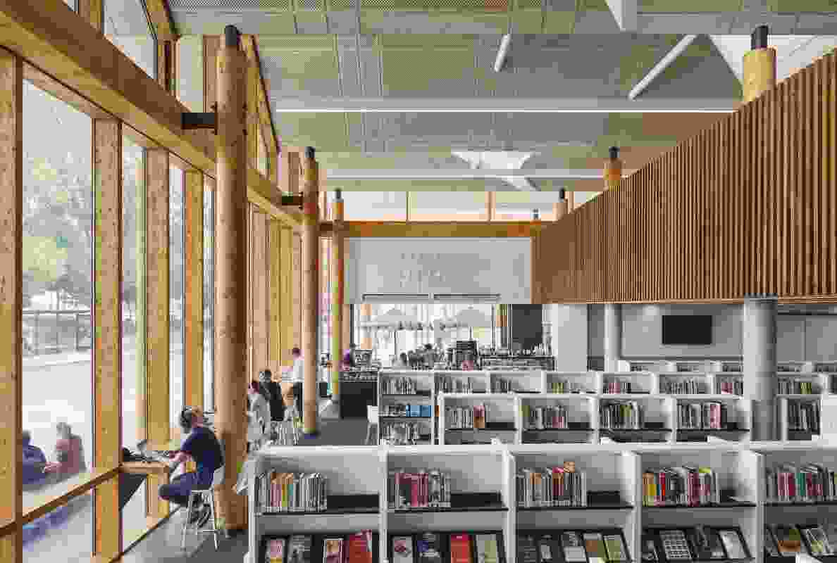 Marrickville Library by BVN.