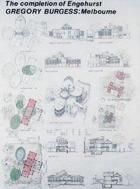 Exhibition design forThe Completion of Engehurstexhibition, Sydney, 1980.