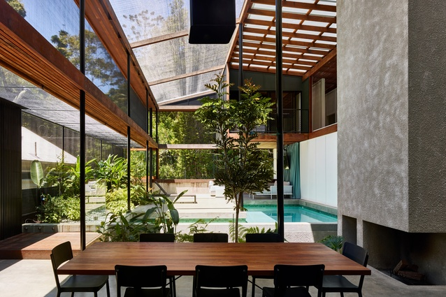 Mitti Street House (Qld) by James Russell Architect.