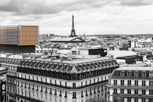 An example of how Joshua Duncan and Chaz Flint's Lightweight Living design could be used in Paris.