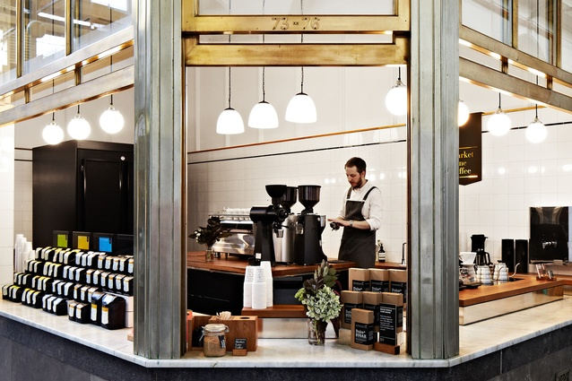 Market Lane Coffee, Queen Victoria Market by Hearth Studio