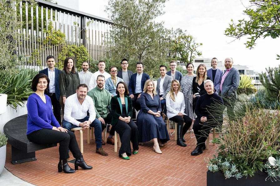 Senior management of SJB Sydney.