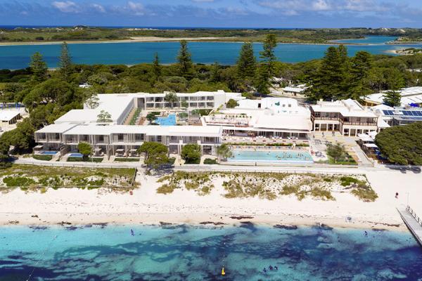 Hotel Rottnest Resort by Christou Design Group.