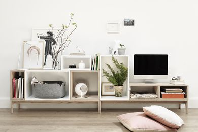 Stacked Shelf System from Muuto.