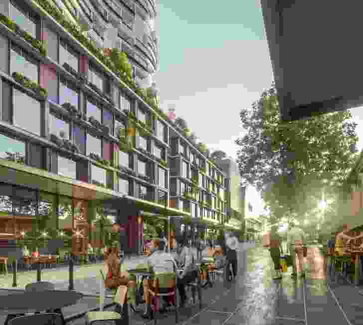 Munro development by Bates Smart and Six Degrees Architects.