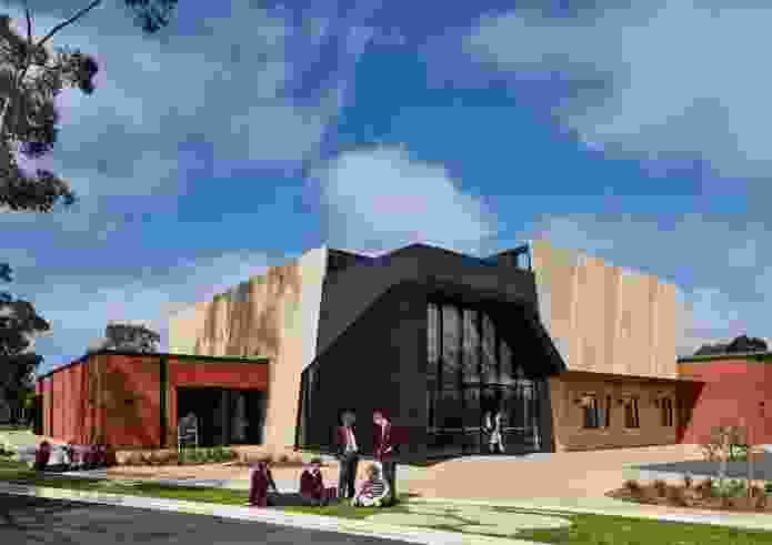 St John's Grammar School John Bray Centre for the Performing Arts by Walter Brooke.