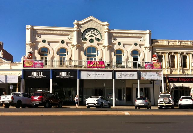 The Laslett Buildings in central Kalgoorlie.