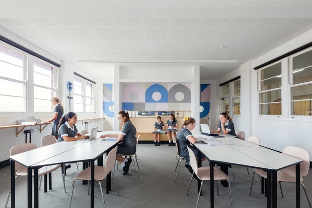 Kambala Agile Learning Space by Tribe Studio Architects.