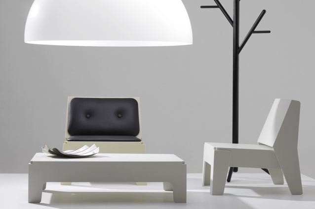Dome Light, Butter Seat Upholstered, Butter Seat, Butter Bench and Stem Tree by DesignByThem.