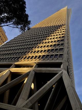 The Transamerica Pyramid by William Pereira and Associates.