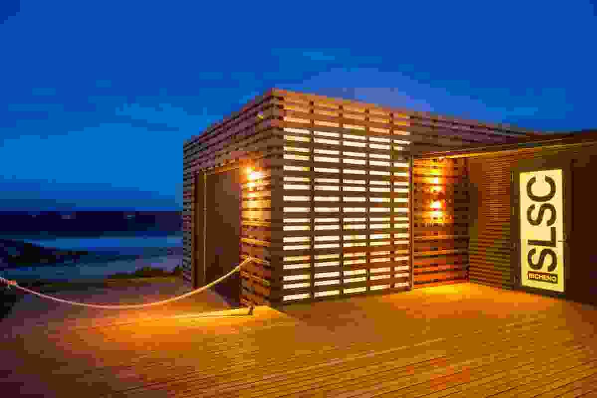 Bicheno Surf Life Saving Club + Boathouse by Birrelli Art + Design + Architecture.