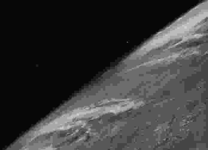 Earth observation has come a long way since this first photograph taken from space, on October 24 1946.