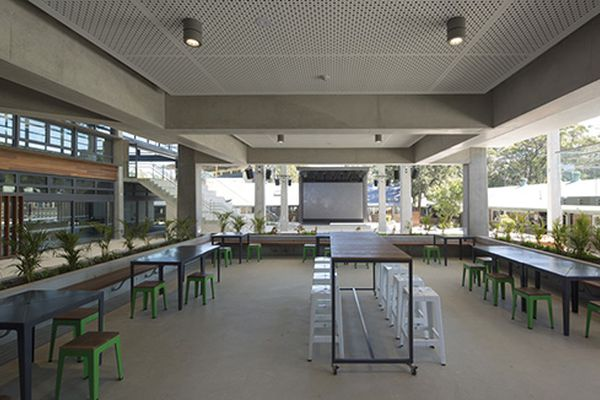 Northern Beaches Christian School by WMK Architecture.
