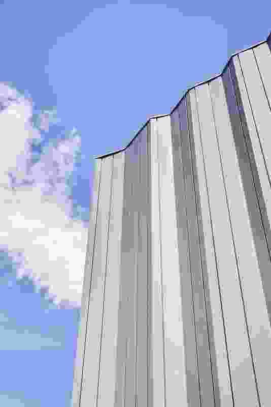 The facade of Buxton Contemporary by Fender Katsalidis.