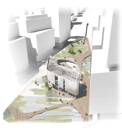 Green square competition shortlist architectureau for Design studio adelaide