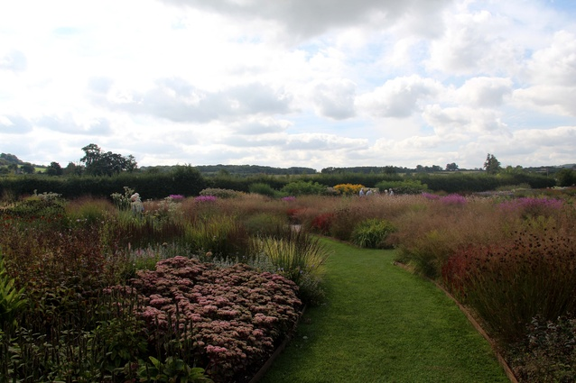 The Oudolf Field by Piet Oudolf, Hauser & Wirth Somerset, United Kingdom.