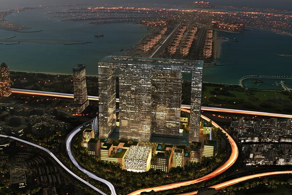 The Dubai Pearl by Caulfield Krivanek in association with Shweger Associates (Hamburg).