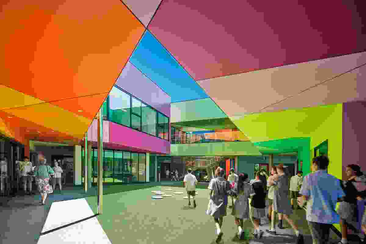 Ivanhoe Grammar School Senior Years Centre by McBride Charles Ryan.