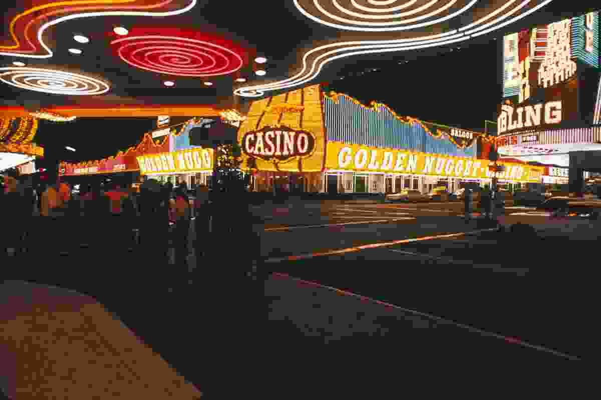 Fremont Street Las Vegas, 1968.
