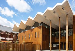 Marrickville Library and Pavilion by BVN.